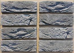 Szara Cegła Grafitowa Stara Imitacja Kamień Dekoracyjna Płytki Gipsowe