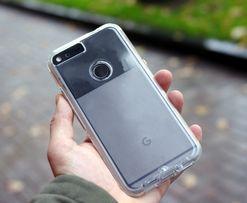 Фирменный чехол Google Pixel / Pixel XL Case-Mate прозрачный из США 1