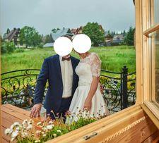 suknia ślubna fasson Dorota Wróbel