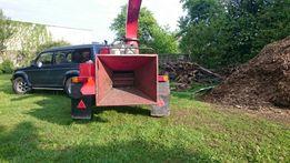 Rębak WYCINKA wynajem usługi 25 cm śr FV zrębka usuwanie gałęzie drzew