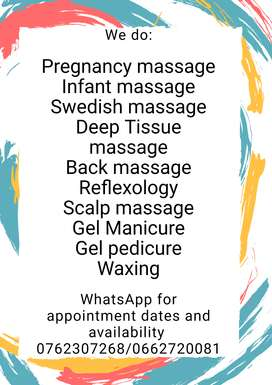 Book a 90 min relaxing massage and save R100