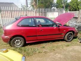 1.6 Honda Civic 2 door hatchback with new engine for Sale!