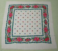 Шерстяной платок 80 на 80 см