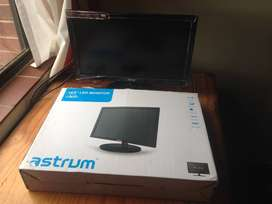 Astrum 19.5 Inch LED Monitor with Built in Speaker