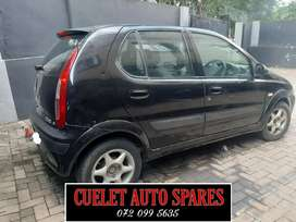 Tata Indica breaking up for parts