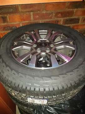 Ford Ranger Rims and New tyres