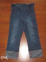 Spodnie ciążowe jeansowe - rozm. 42