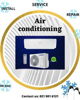 air conditioning repair & install with certificate of compliance deal