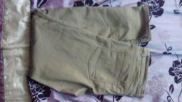 Spodnie dżinsy 42 h&m beżowe