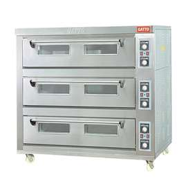 HEO-36 ELECTRIC 3 DECK 6 TRAY OVEN