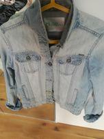 Kurtka wiosenna jeansowa M