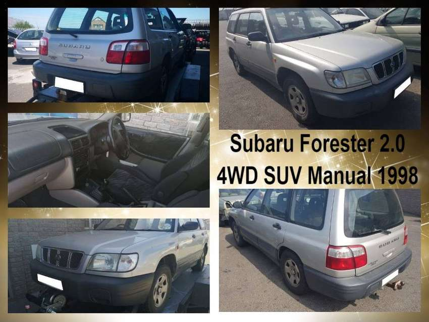 Subaru Forester 2.0 4WD SUV manual 1998 stripping for spares. 0