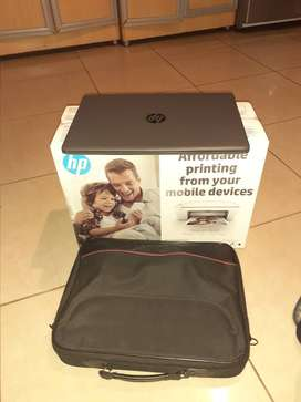 Laptop, bag and 3in1 color printer