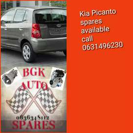 Kia picanto 2012 spare parts available