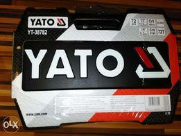YATO--mega zestaw kluczy YT 38782--komplet 72 części