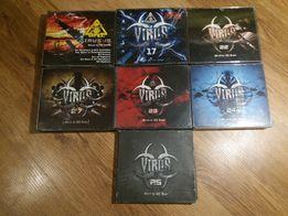 Kompilacje Virus Mixed By DJ Bass Hardcore Gabber 15,17,22,23,24,25,27