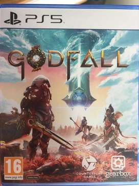 Godfall PS5 in perfect condition.