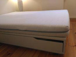 Rama łóżka mandal ikea 160x200