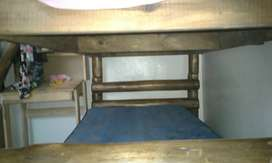 Ranch furniture bunk beds timber poles