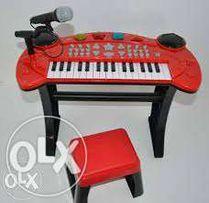 Keyboard Pianino z Krzesełkiem Chad Valley