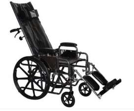 Wheelchair - Reclining High-Back Wheelchair 16inch R10000 neg.