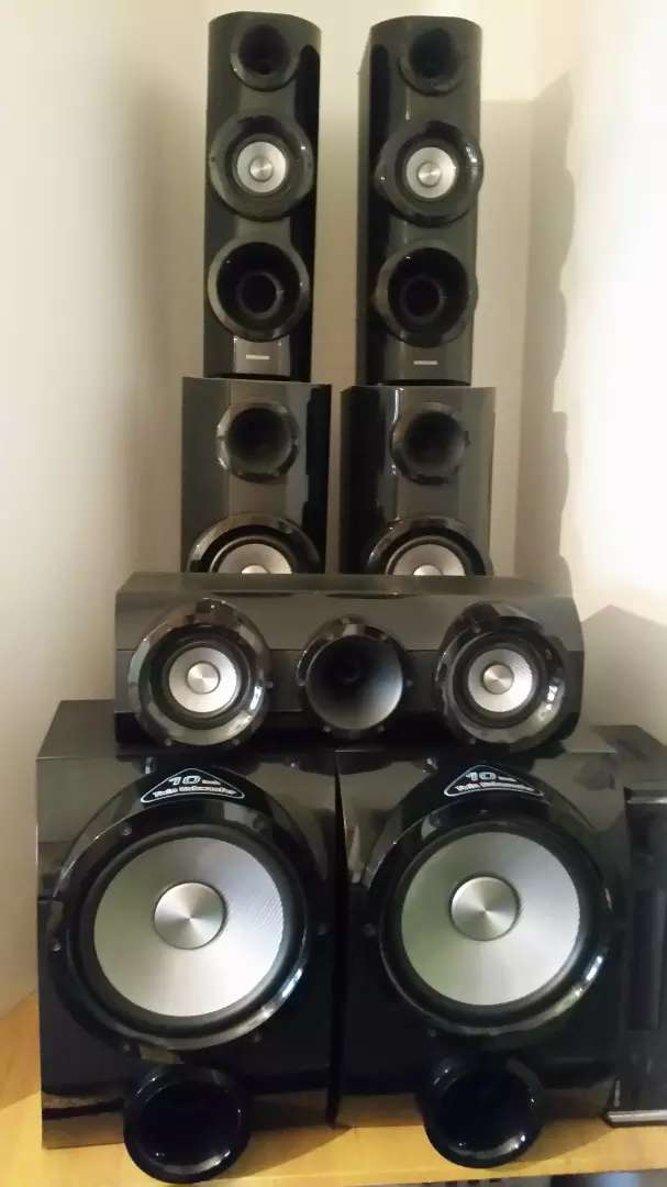 Samsung 5.2 channel 3 D home theatre Speakers only