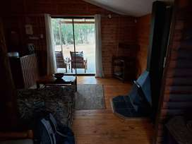 Wooden cabin in the mountans of swellendam