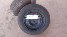 Tyre and rims