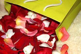 ЛЕПЕСТКИ роз на свадьбу, для романтики, декора - ЖИВЫЕ, СВЕЖИЕ !!!
