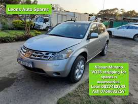 Nissan Murano VQ35 stripping for spares