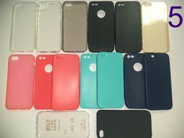 ПРЕМИУМ Силиконовый чехол для/на iPhone X8Plus7+6SE5s4Айфон+Прозрачный