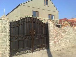 Кованные ворота и др.