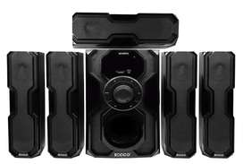 ECCO 5.1CH Home Theatre Speaker System/12 Month warranty / Receipt/New
