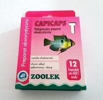 ZOOLEK Capicaps T - na pasożyty: przywry nicienie 12 kaps. Adamiak-ZOO