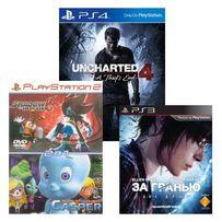 Диски с играми для PS1, PS2, PS3, PS4