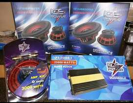 Ice Power Sound Combo Subs Monoblock