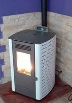 Piec, piecyk , kominek na pelet pellet Julia 6, 3 kW - Włoski