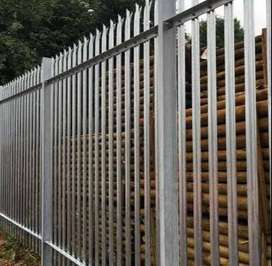Palisade fencing for sale