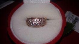 Золотое кольцо. вставка 25 кубичный циркон.цветной!!!