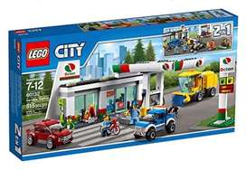 LEGO 60132 City Town Service Station. New