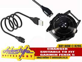 suitable garmin chargers, cables, straps, forerunner, fenix etc