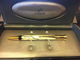 Ручка паркер оригинал Parker Duofold Pearl And Black Ballpen почти нов