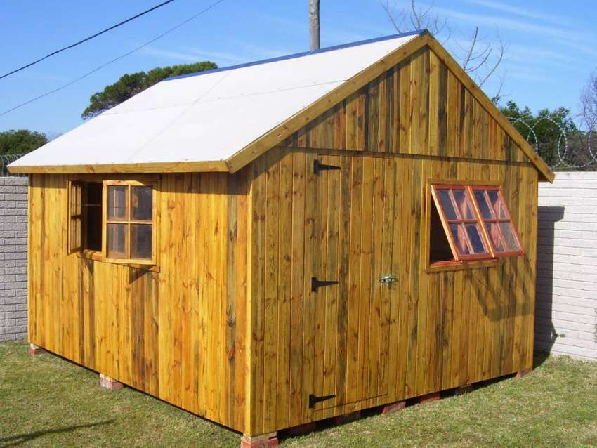 Timber Frame Wendy House / Toolshed
