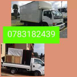 TRUCKS AND BAKKIES FOR MOVING HOUSE AND OFFICE FURNITURE