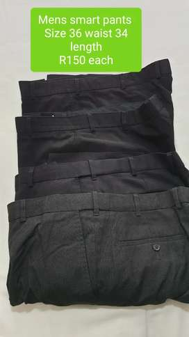 2nd Hand Mens Smart Pants Size 36 R150 each
