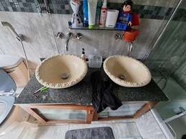 Bathroom Cabinets and Sink set