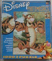 Puzzle - Disney Photomosaics - 1000 elementów - Tygrysek