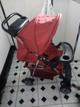 Pram and baby carrier