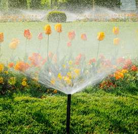 We do all types of Irrigation sprinklers systems