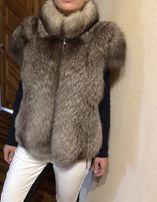 Меховая жилетка 2500грн